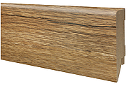 Плинтус МДФ дуб филадельфия 80х19 мм, шт, фото 1