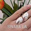 Серебряное кольцо без камней, фото 5