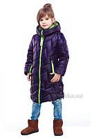 Полупальто для девочек Ярина Nui Very светло-фиолетовое 36