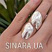 Серебряное кольцо без камней, фото 3