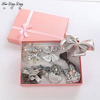 Комплект заколок в подарочной упаковке для девочки Принцесса