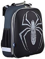 """Ранец ортопедический каркасный """"1 Вересня"""" Spider H-12, 554595"""