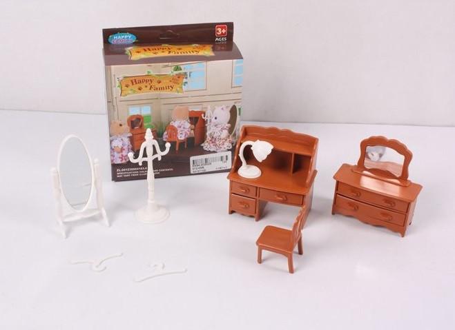 Набор мебели Гостиная для флоксовых животных Happy Family 012-05B (аналог Sylvanian Families)