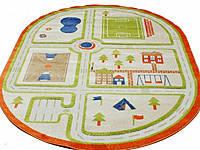 Детские ковры с рисунками дорог и аэропортом