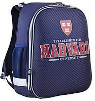 """Ранец ортопедический каркасный """"1 Вересня"""" Harvard H-12, 554607"""