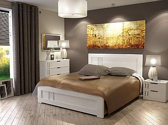 Кровать Зоряна 1,6 Скол дуба белый