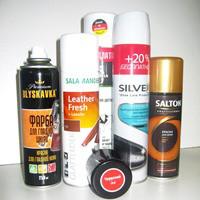 Краска-спрей для гладкой кожи