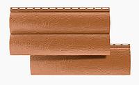 Сайдинг Акриловый Блок-Хаус двухпереломный Дуб Светлый 3,1*0,32 м.(BlockHouse)