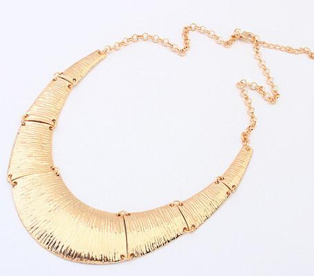 Ожерелье колье золотистое tb1203