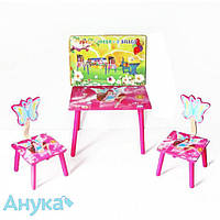 Комплект стол+2стула Baby Tilly Winx розовый