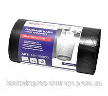 PRO Пакет для мусора п/э 50*55 черный HD 35л/100шт. (20шт/ящ)