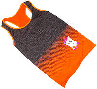 Майка для фитнеса NB №1 оранжевая