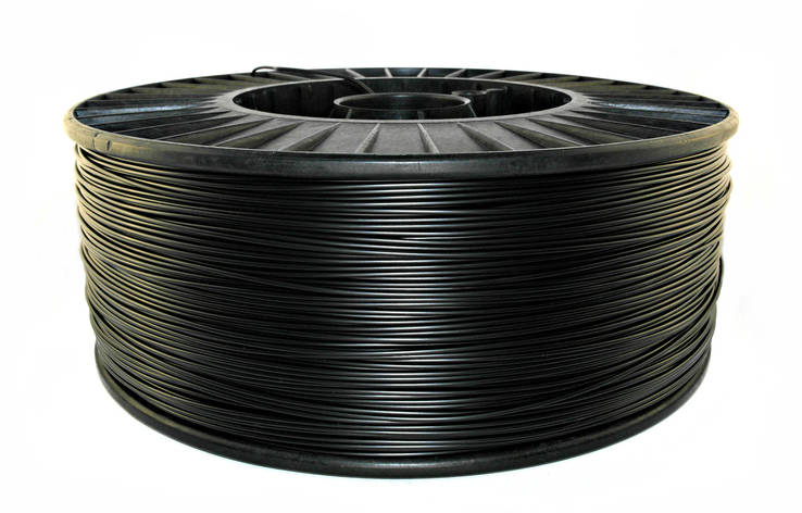 Нить ABS Premium (АБС) пластик для 3D принтера, Черный (1,75 мм/2.5 кг), фото 2