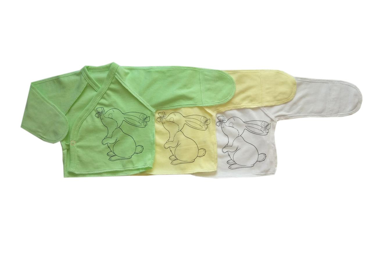 Распашонка для новорожденных (кулир)