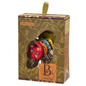 Развивающая игрушка – СУПЕР-КЛЮЧИКИ (свет, звук, томатный) от Ba