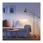 Торшер / лампа для чтения IKEA BAROMETER желтая медь 303.580.50, фото 2