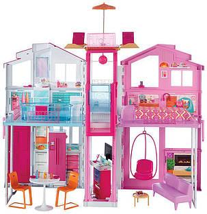 Городской дом мечты Барби Малибу 3-этажный с лифтом Barbie Pink Passport 3-Story Townhouse , фото 2