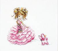 Luca-S Набор для вышивки крестом Принцесса В1056