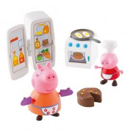 Игровой мини-набор Peppa - КУХНЯ ПЕППЫ (кухонная техника, 2 фигурки) о