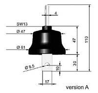 Ограничитель перенапряжения ASA-A 660-10A