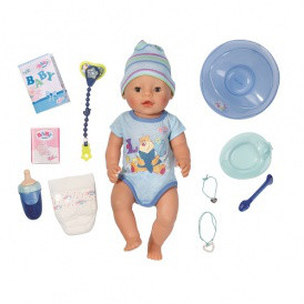Кукла BABY BORN - ОЧАРОВАТЕЛЬНЫЙ МАЛЫШ (43 см, с аксессуарами) от Zapf