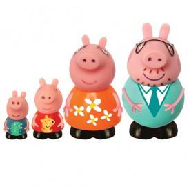 Набор игрушек-брызгунчиков Peppa – СЕМЬЯ ПЕППЫ (4 фигурки) от Pe