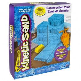 Набор песка для детского творчества - KINETIC SAND CONSTRUCTION ZONE (