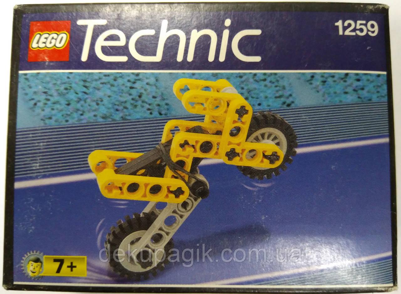 Lego Technic Motorbike Мотоцикл 1259