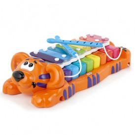 Развивающая музыкальная игрушка - ТИГРЕНОК-КСИЛОФОН: ДВА В ОДНОМ (звук