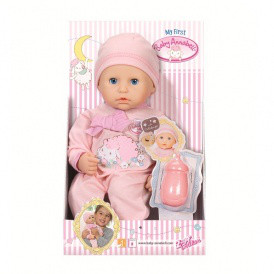 Кукла MY FIRST BABY ANNABELL - МОЯ  МАЛЫШКА (девочка, 36 см) от Zapf -