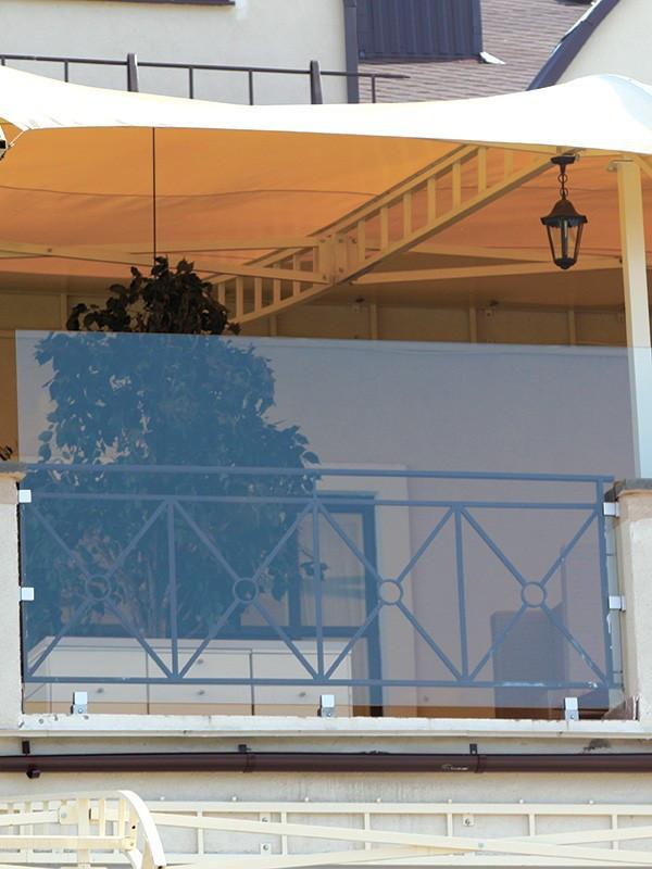 Стеклянные ограждения для балконов и террас, балконные перила из стекла, фурнитура из нержавейки, установка