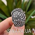 Серебряное кольцо с чернением Коралы, фото 3