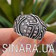 Серебряное кольцо с чернением Коралы, фото 2