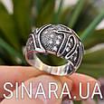 Серебряное кольцо с чернением Коралы, фото 4