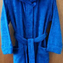 Детский махровый халат ,100% хб ; рост 134 ; 128; 122.