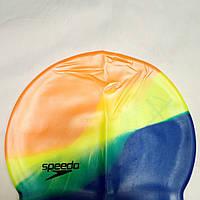 Шапочка силиконовая для плавания Speedo, фото 1