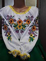 Женская вышиванка блуза