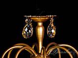 Шикарная люстра с хрустальными подвесками 4861/8, фото 4