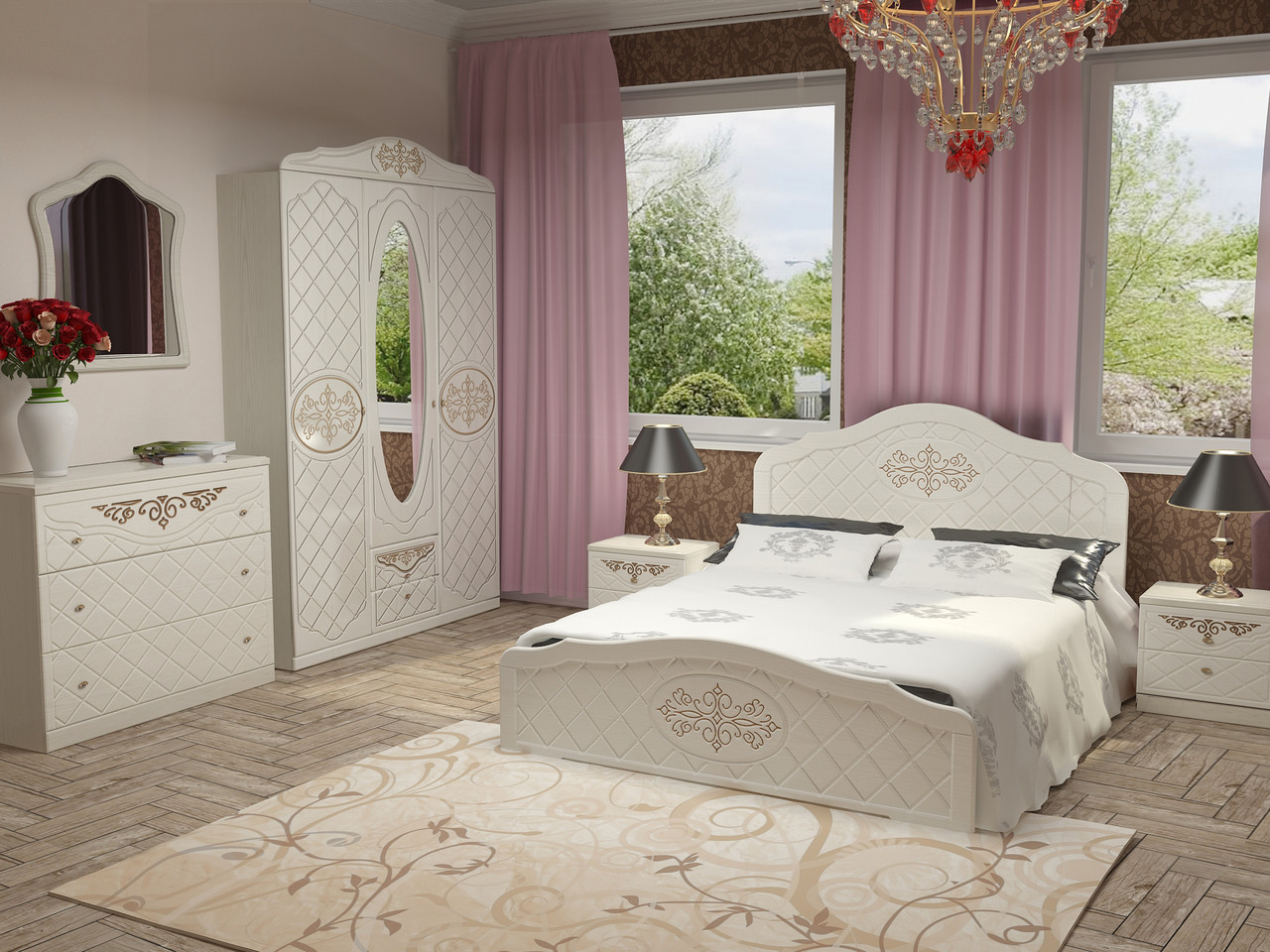 Кровать Лючия 1,8