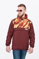 Анорак мужской ветровка AN CLR Urban Planet оранжевый (мужская куртка, ветровки, куртка чоловіча, ветровки)