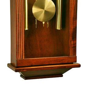 Деревянные настенные часы Tempus с маятником и боем, цвет вишня, фото 3