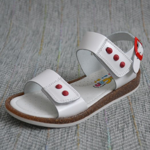Белые босоножки для девочки, Minican размер 26 27 28 29
