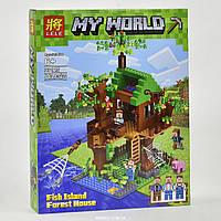 """Конструктор Lele Minecraft """"Дом у реки""""  33125"""