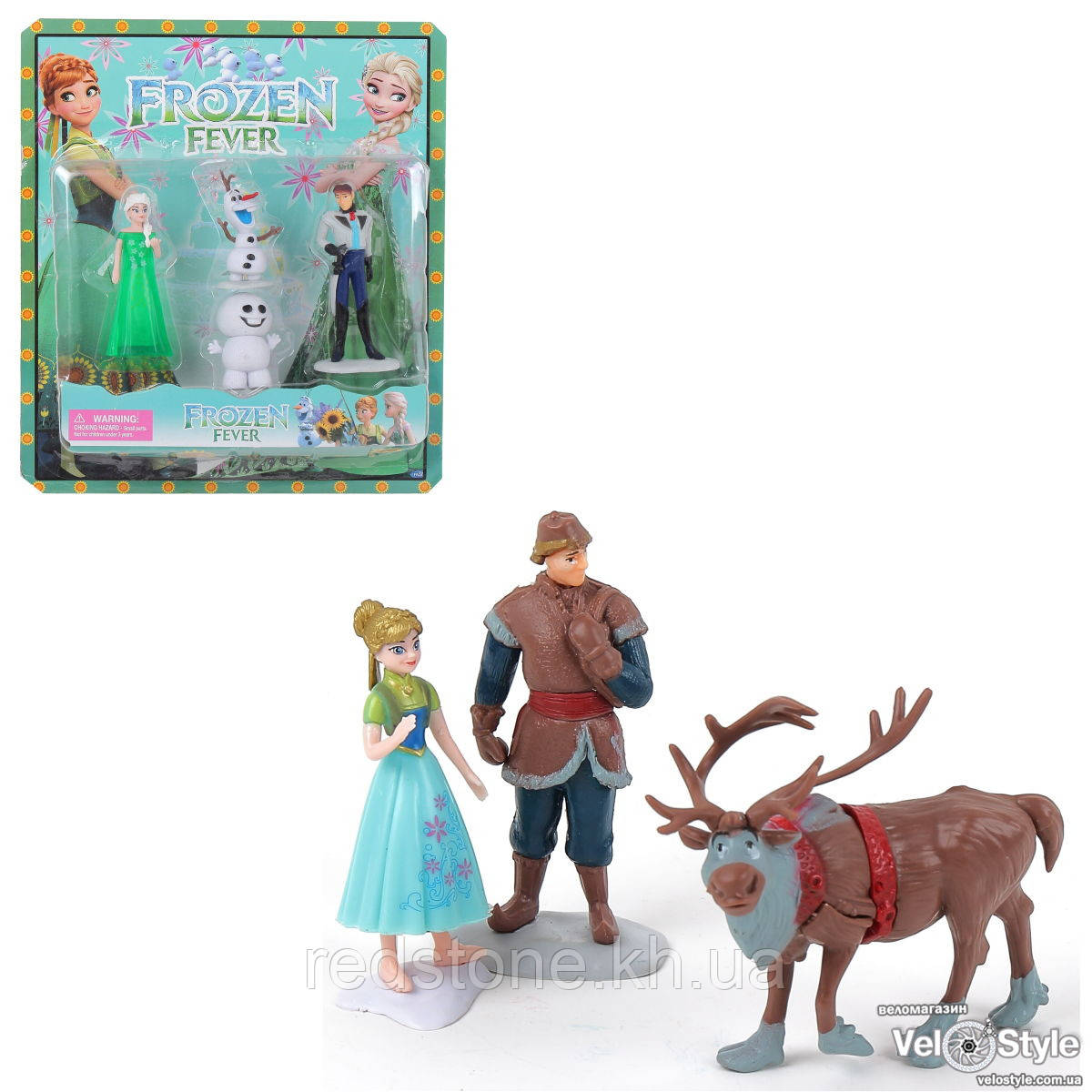 Игровой набор фигурок Дисней Холодное сердце Frozen LB1685 (2 вида)