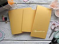 Заготовка для открытки, золотая, перламутровая, 250 г/м 14*10,5 см