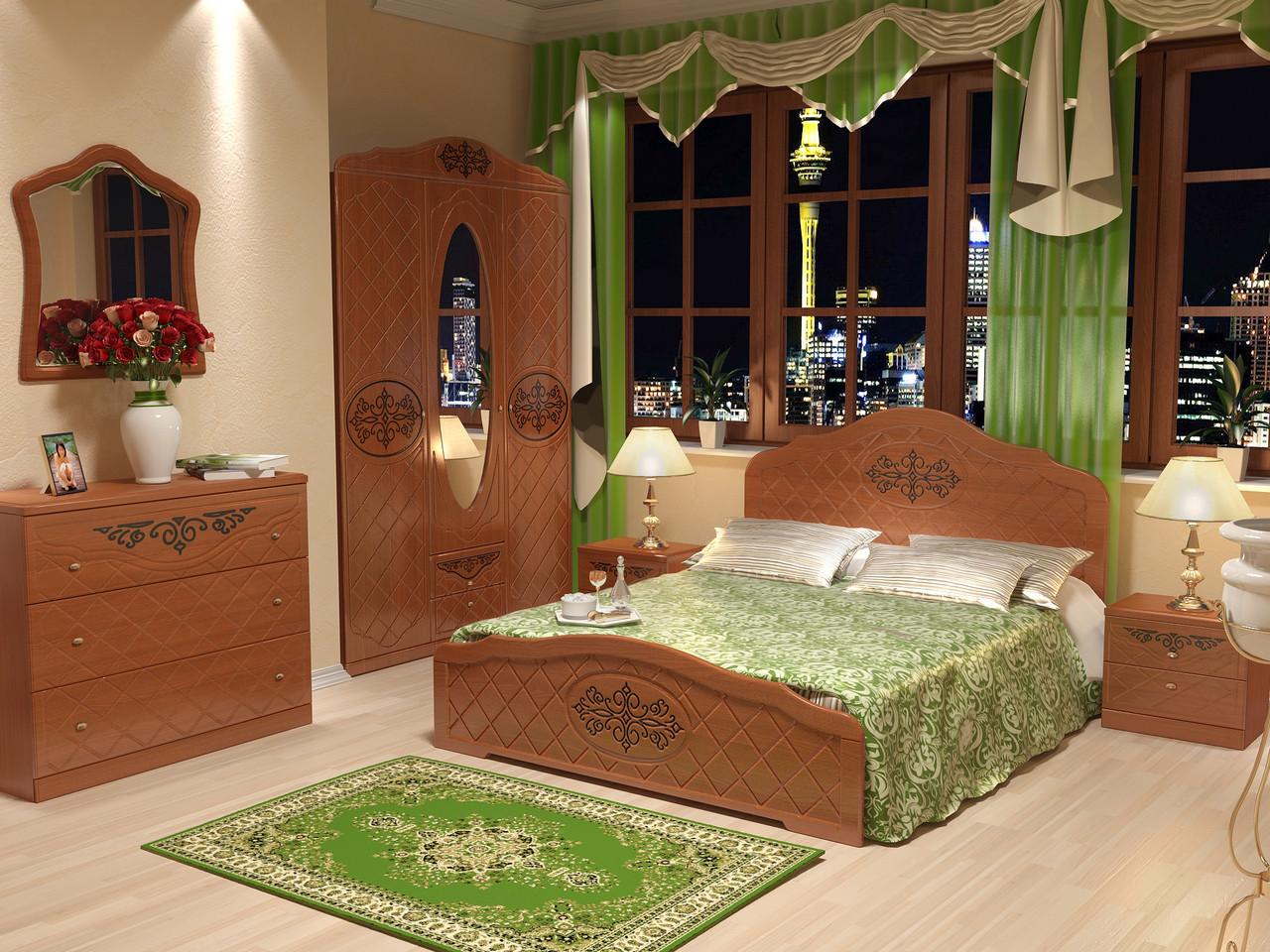 Кровать Лючия 1,6 орех