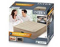 Кровать надувная Intex 64458 со встроенным насосом