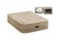Ліжко надувний Intex 64458 з вбудованим насосом, фото 2