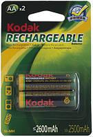 Аккумулятор Kodak Ni-MH R6 2600 mAh бл 2шт