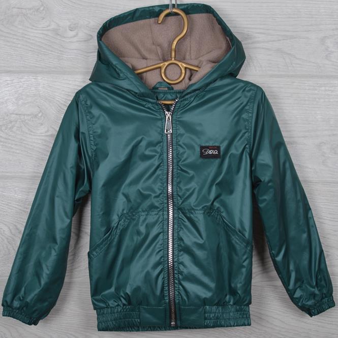 """Куртка-ветровка подростковая """"Fashion"""". 116-140 см (6-10 лет). Зеленая (ель). Оптом."""